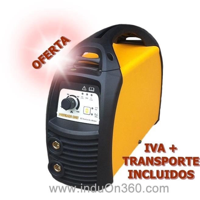 Equipo soldadura electrodos PowerArc 180 E