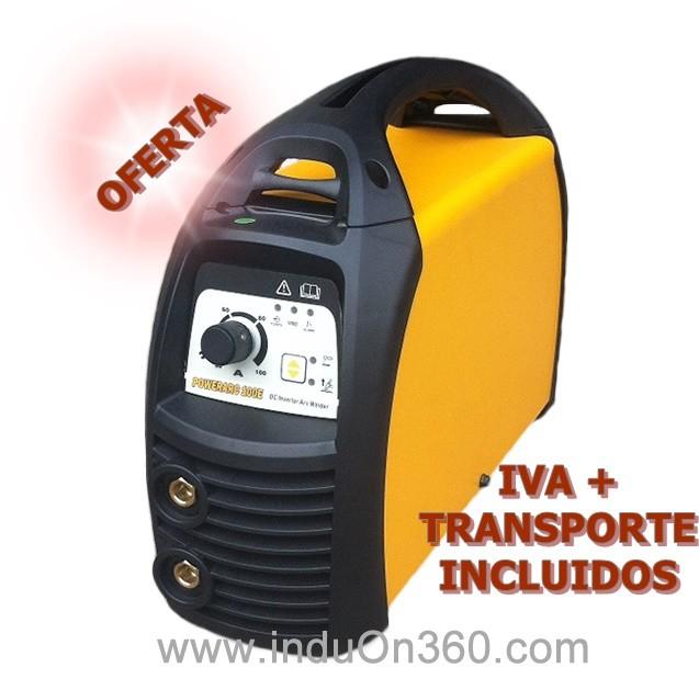 Equipo soldadura electrodos PowerArc 200 E