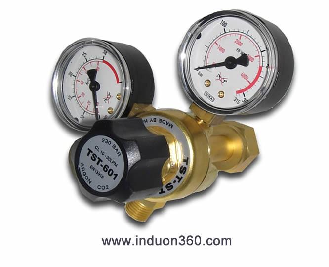 Regulador caudalímetro Argón CO2 30PLM