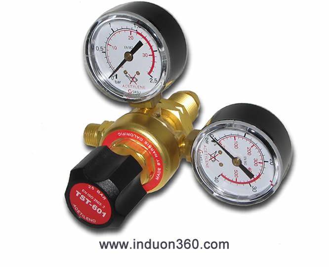Regulador gas Acetileno 1,5 bar