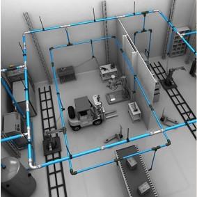 Sistemas eficientes de canalización de gases