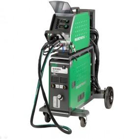 Equipo de soldadura MIG Sigma 500 arrastrador independiente, sinérgica,  Pulsada, refrigerada