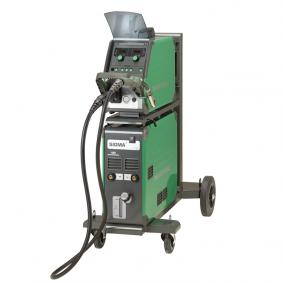 Equipo de soldadura MIG Sigma 400 con arrastrador independiente, sinérgica,  Pulsada, refrigerada