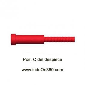 Sirga Forrada 4m. 1,0-1,2mm. Para Antorcha MIG PRO 240/250/360/240W