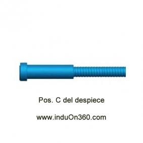 Sirga Forrada 4mt. 0,6-0,9mm. Para antorcha MIG PRO 150/240/250/360 A