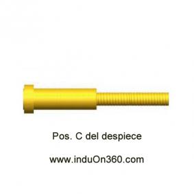 Sirga Forrada 4m. 1,2-1,6mm. Para Antorcha MIG PRO 360/400 aire