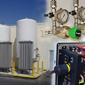 Optimización del suministro y consumo de gases