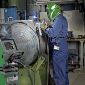 Proceso de soldadura semiautomática MIG de alta velocidad - Power Arc