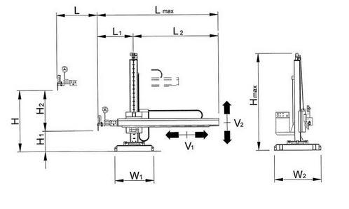 Dimensiones columnas de soldadura